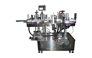 DDU-1603G high speed servo circular bottle automatic positioning and labeling machine